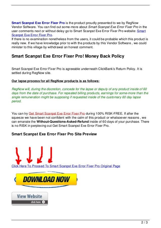 Smart scanpst exe error fixer pro Slide 2