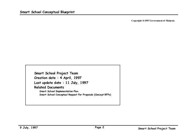 The malaysian smart school a conceptual blueprint conceptual blueprint an msc flagship application 2 malvernweather Gallery