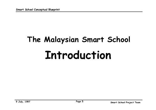 The malaysian smart school a conceptual blueprint 5 smart school conceptual blueprint malvernweather Gallery