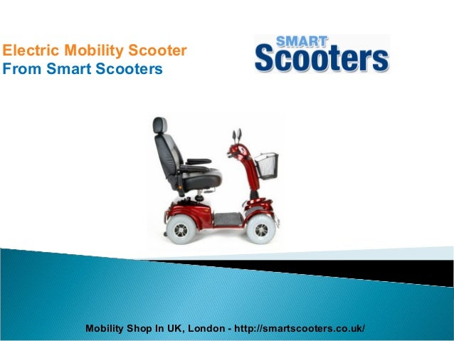 Electric Mobility Scooter From Smart Scooters Mobility Shop In UK, London - http://smartscooters.co.uk/