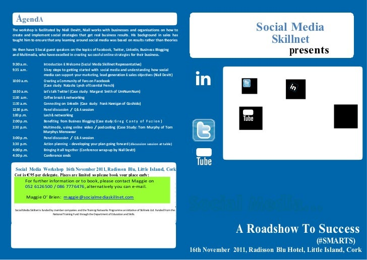Social Media A Road To Success (SMARTS)