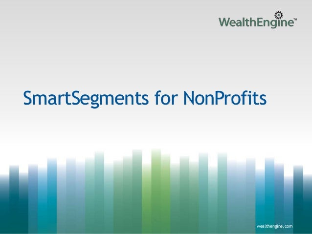 1wealthengine.com wealthengine.com SmartSegments for NonProfits