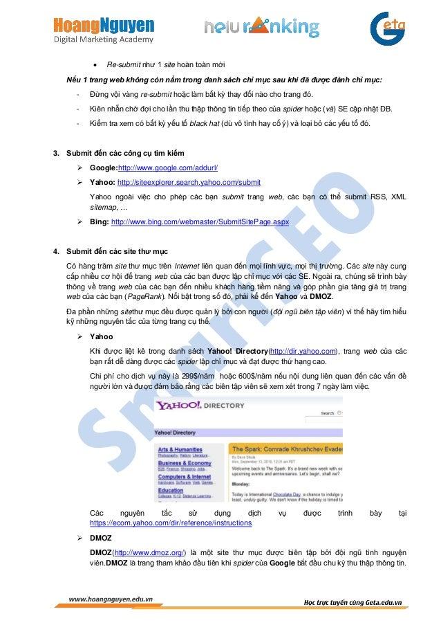 SmartSEO-Chương 6: Tối Ưu Hóa Ngoài Trang Slide 2