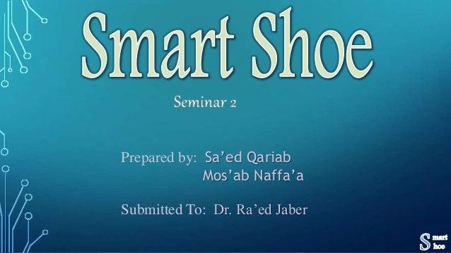 Submitted To: Dr. Ra'ed Jaber Prepared by: Sa'ed Qariab Mos'ab Naffa'a