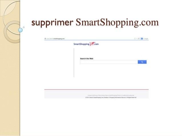 supprimer SmartShopping.com