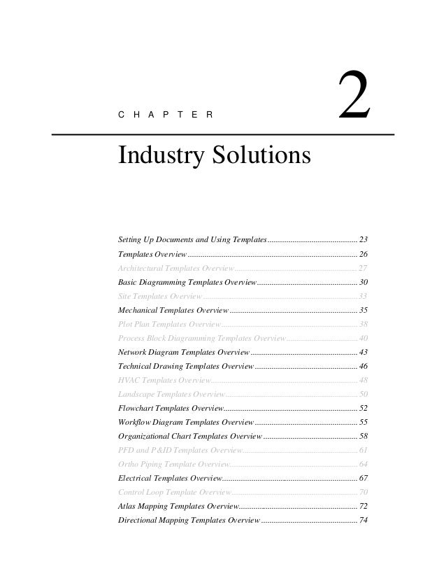 c h a p t e r 2 industry solutions setting up documents and using templates