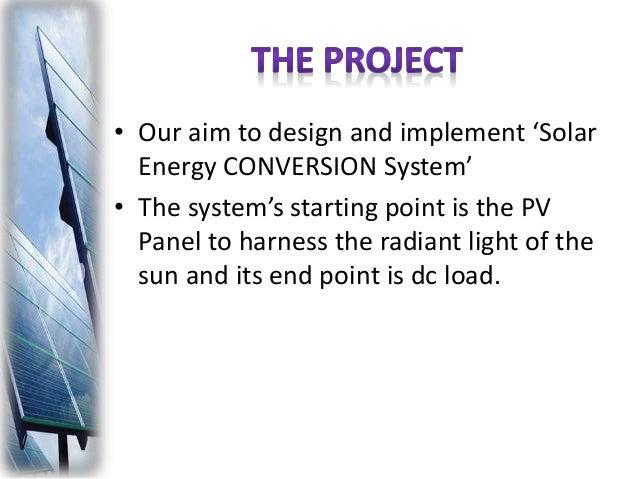 Smart Solar Power Conversion System Final Defense