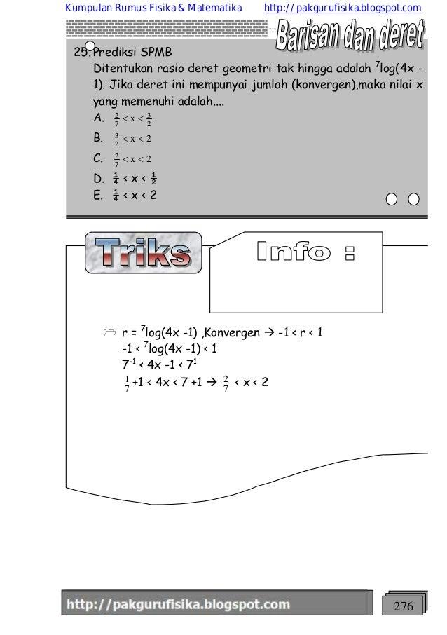 Kumpulan Rumus Geometri Cara Belajar
