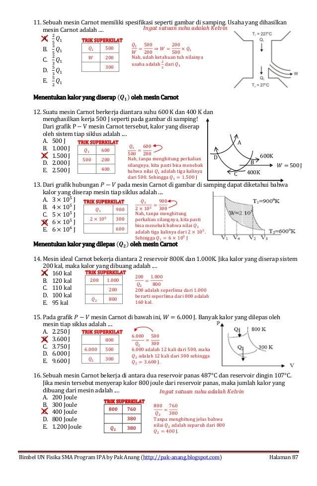 Smart Solution Un Fisika Sma 2013 Skl 3 Indikator 3 3 Termodinamika