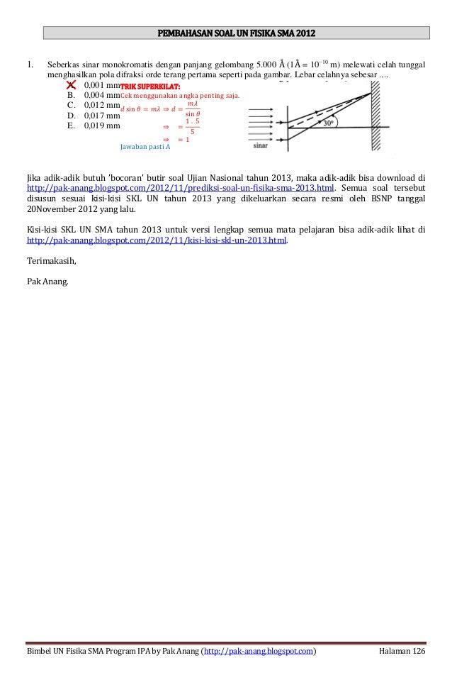 Smart Solution Un Fisika Sma 2013 Skl 4 Indikator 4 4