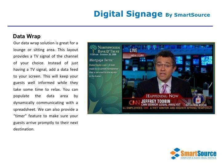 Smart Source Digital Signage