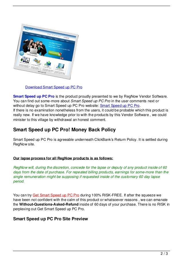 Smart speed up pc pro Slide 2