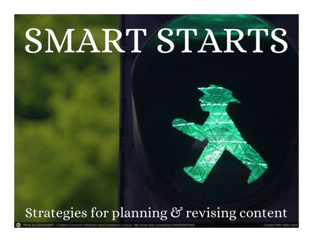 Smart starts  3 writing strategies