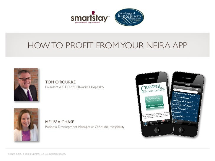 HOW TO PROFIT FROM YOUR NEIRA APP                                   TOM O'ROURKE                                   Preside...