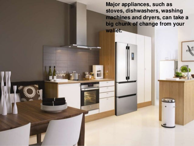 Smart strategies for buying major appliances online