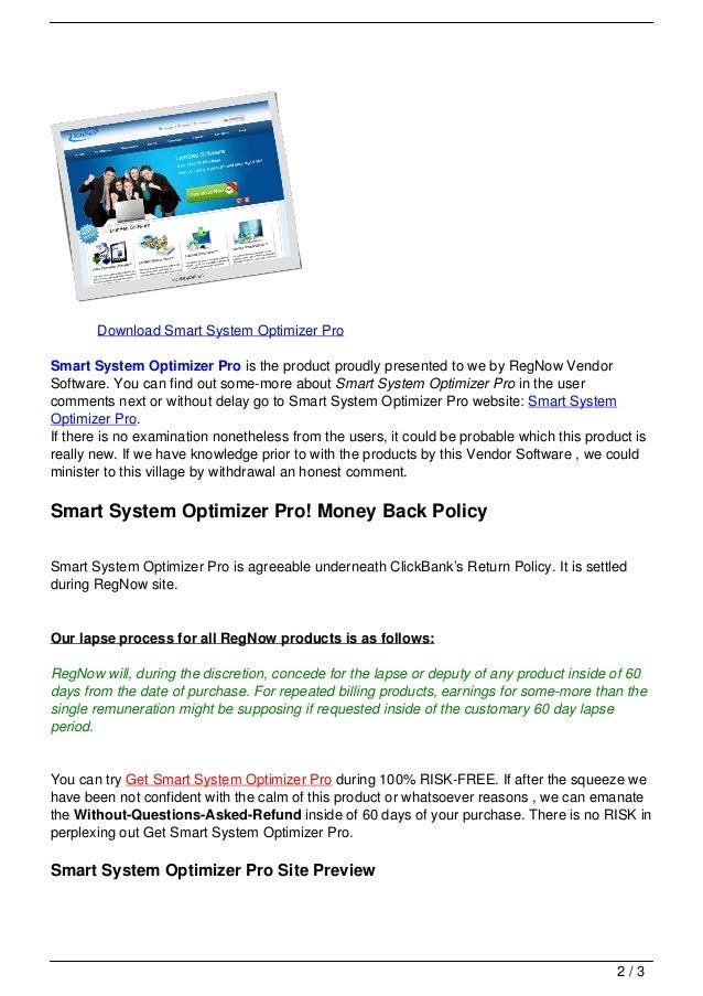 Smart system optimizer pro Slide 2