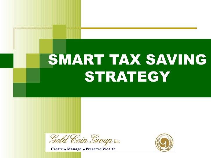 SMART TAX SAVING STRATEGY