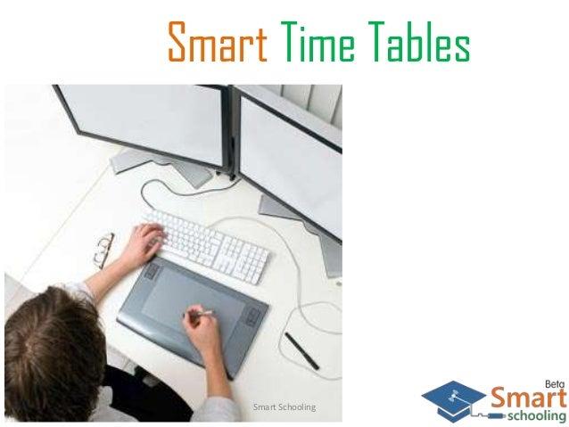 Smart Time Tables Smart Schooling