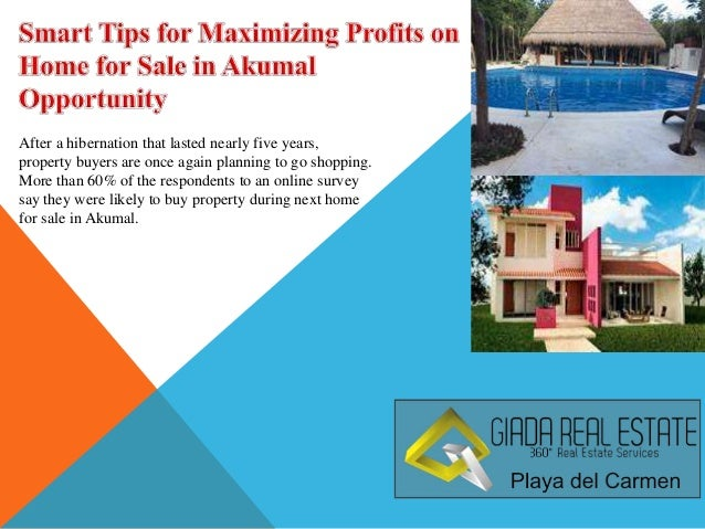Smart Tips for Maximizing Profits on Home for Sale in Akumal