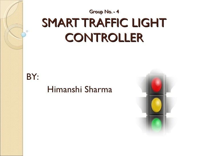 smart traffic light controller rh slideshare net