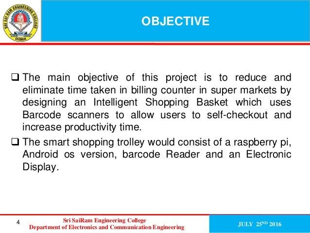 Smart Intelligent trolley