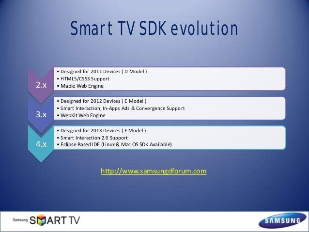 Introduction to Samsung Smart TV SDK