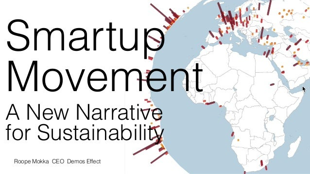 sey&Company Smartup Movement A New Narrative for Sustainability Roope Mokka CEO Demos Effect