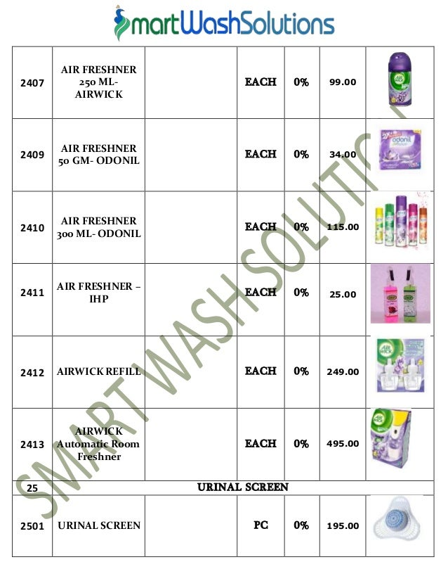 12. Housekeeping Products   Material and Cleaning Chemicals Price List