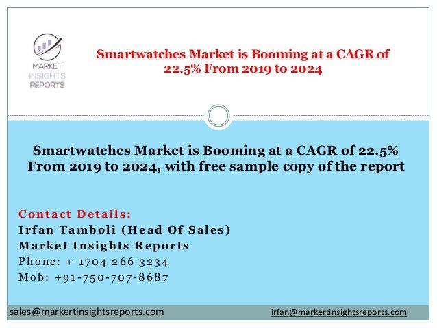 Contact Details: Irfan Tamboli (Head Of Sales) Market Insights Reports Phone: + 1704 266 3234 Mob: +91-750-707-8687 Smartw...