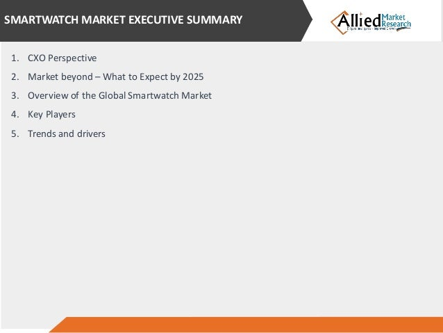 Smartwatch Industry in coming 5 years