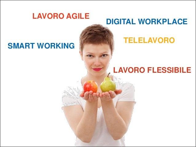 Smart working vs agile working Slide 2