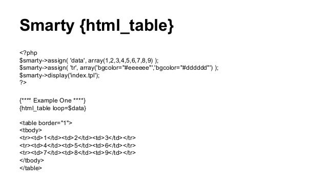smarty assign array