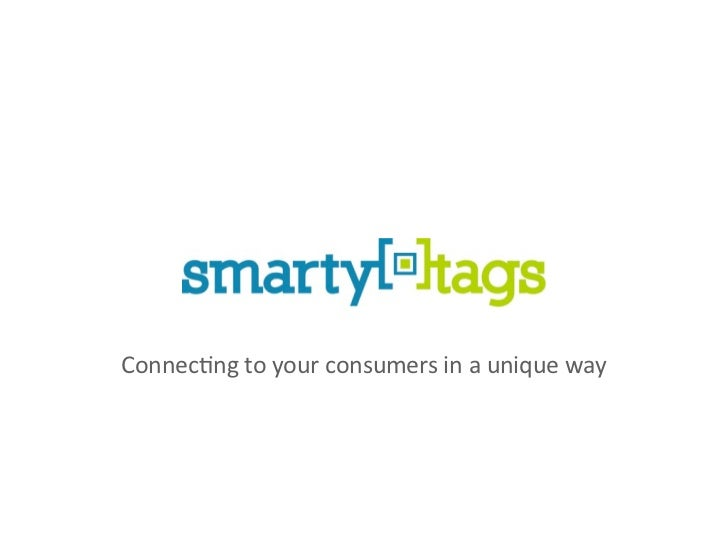 Connec&ng to your consumers in a unique way