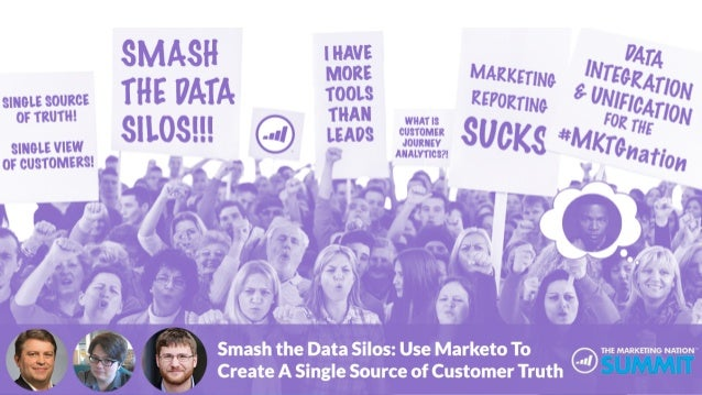 Smash the Data Silos: Use Marketo to Create a Single Source of Customer Truth Courtney Grimes, Martech Solutions Engineer,...