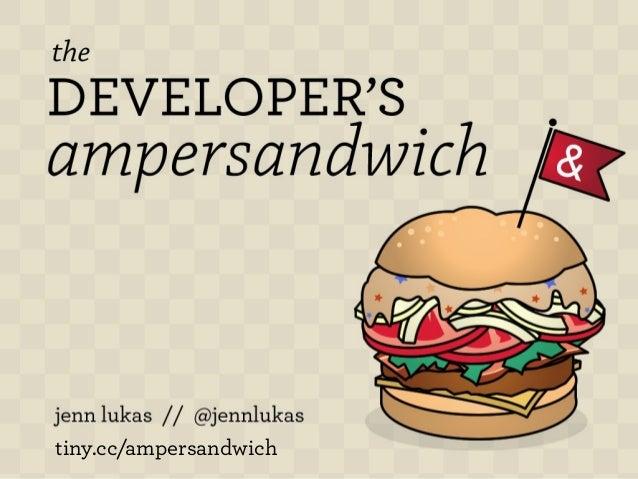 tiny.cc/ampersandwich