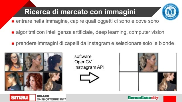 Ricerca di mercato con immagini  entrare nella immagine, capire quali oggetti ci sono e dove sono  algoritmi con intelli...