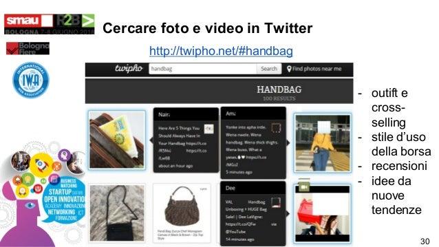 Cercare foto e video in Twitter http://twipho.net/#handbag - outift e cross- selling - stile d'uso della borsa - recension...