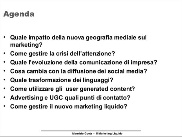Smau2007: Il marketing liquido Slide 3