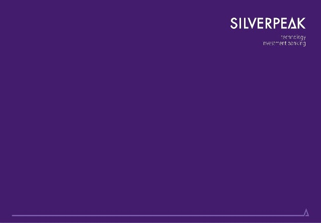 Silverpeak IB is authorised and regulated by the Financial Conduct Authority2Silverpeak LLP is an authorised representativ...