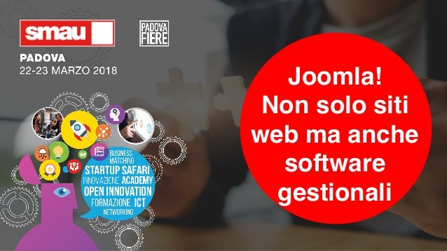 Joomla! Non solo siti web ma anche software gestionali