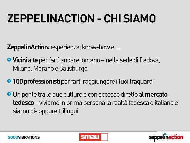 Smau Padova 2015 - ZeppelinAction Slide 3