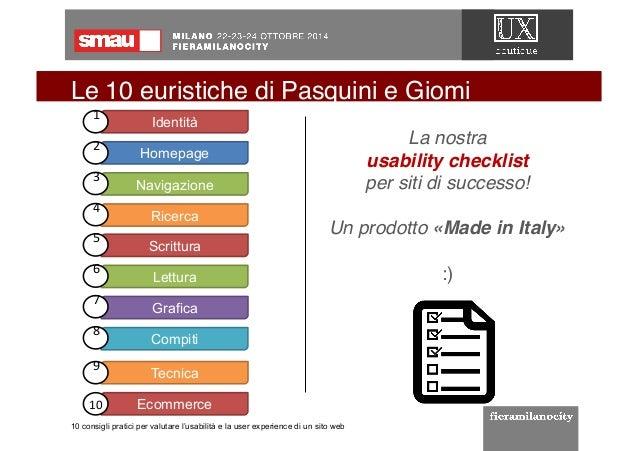Smau milano 2014 10 consigli pratici per valutare l for Sito web per la progettazione di mobili