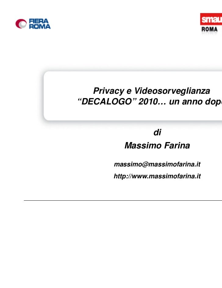 """""""Conferenza stampa di presentazione della 45esima      Privacy e Videosorveglianza   Esposizione Internazionale di Informa..."""