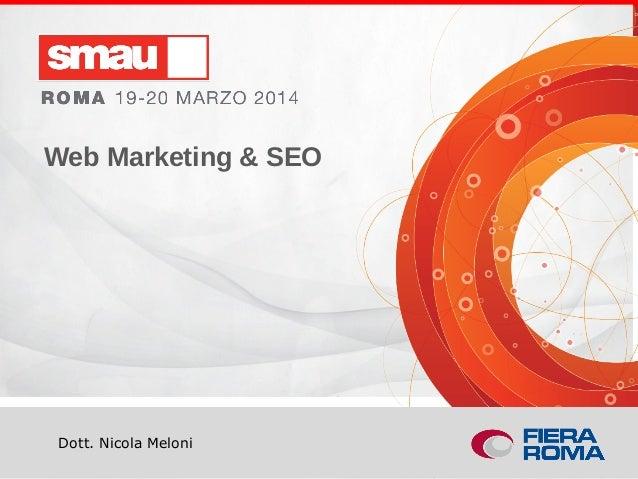 Web marketing e SEO, analisi e strategie a misura di PMI