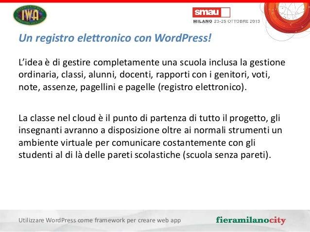 Utilizzare Wordpress Come Framework Per Creare Web App