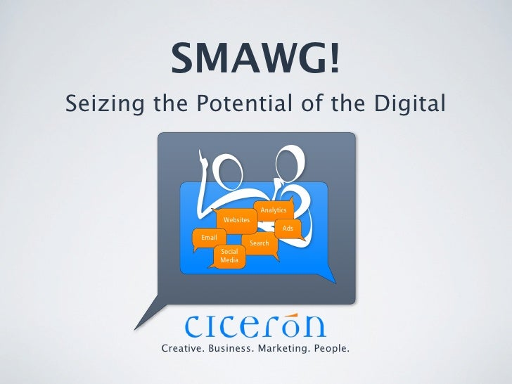 SMAWG! Seizing the Potential of the Digital                                            Analytics                          ...