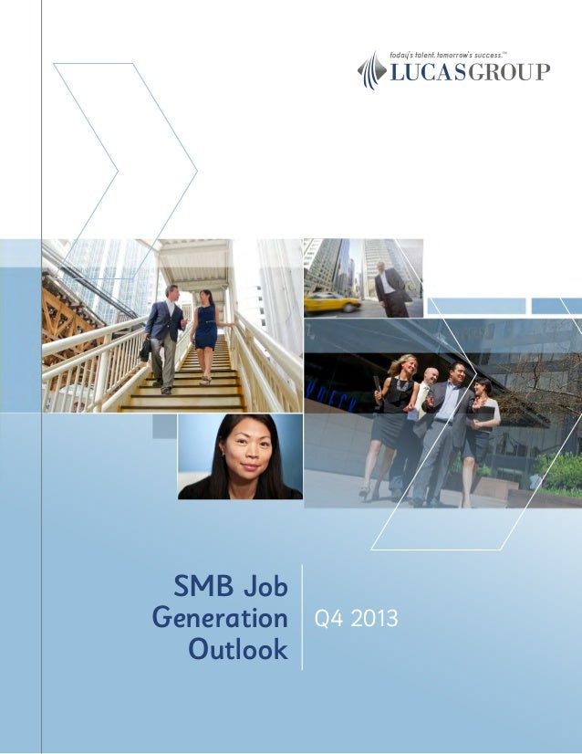Q4 2013 SMB Job Generation Outlook