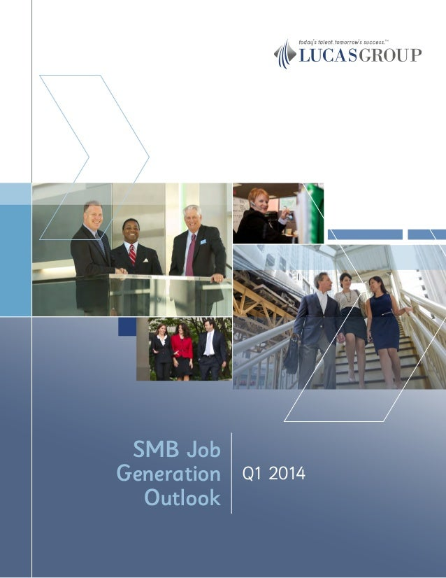 Q1 2014 SMB Job Generation Outlook