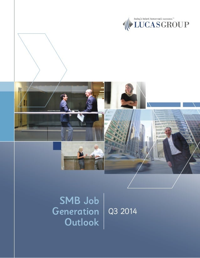 Q3 2014 SMB Job Generation Outlook