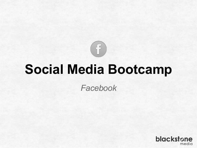 Social Media Bootcamp Facebook